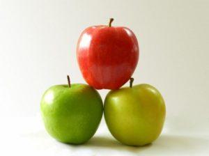 Как яблоки влияют на кожу лица