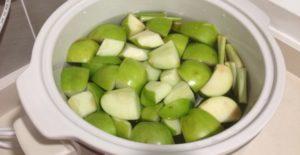Вареные яблоки есть польза и вред