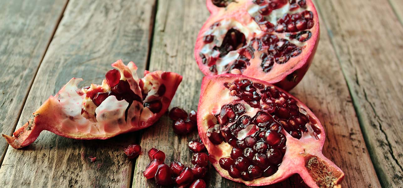 pomegranate skin