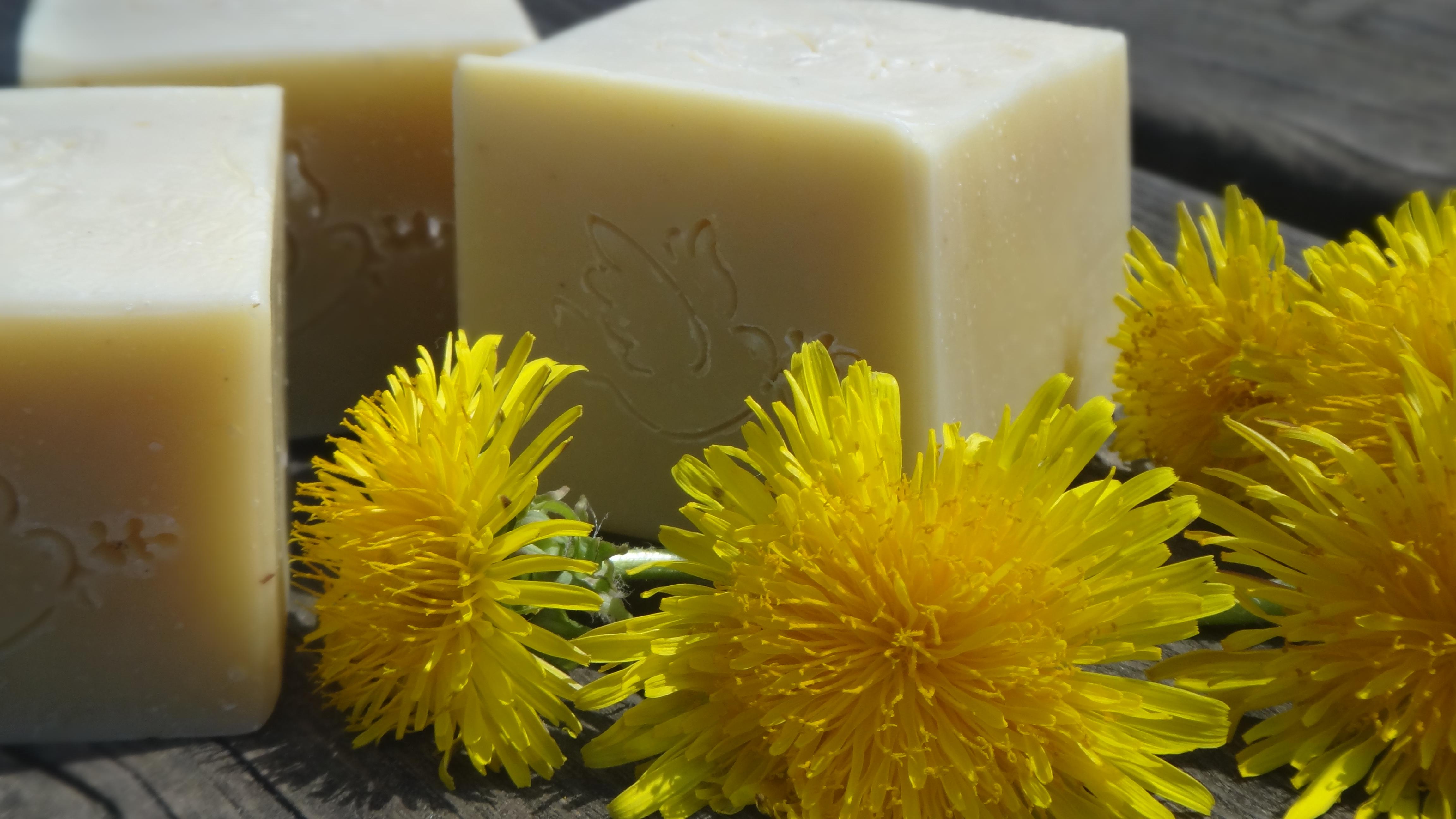 dandellion soap