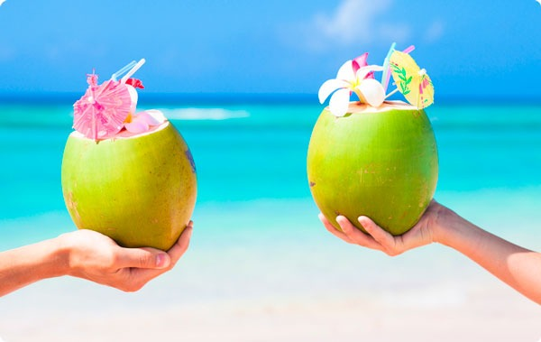 coconut water for stomach