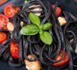 Неожиданные полезные свойства макарон с чернилами кальмара