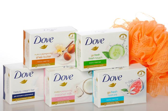 Мыло Dove для красоты и при сухости кожи