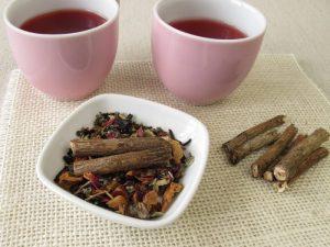 tea with licorice