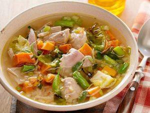 home made turkey soup