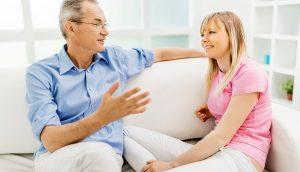 talking with older family memebrs