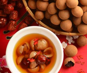 longan and red date tea