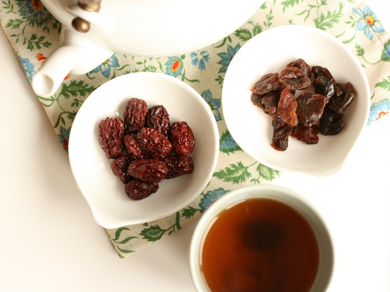 longan and red date teas