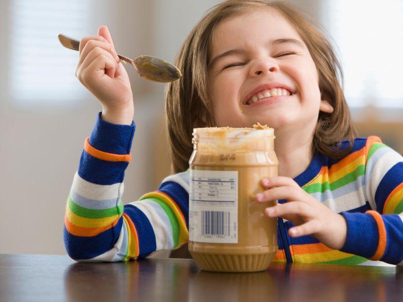 peanut buttter for kids