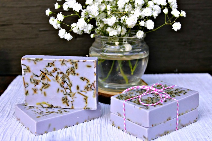 rosemary essential soap
