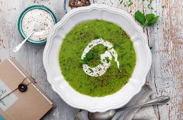 Польза для здоровья супа из гороха и мяты – вкусный и сливочный суп