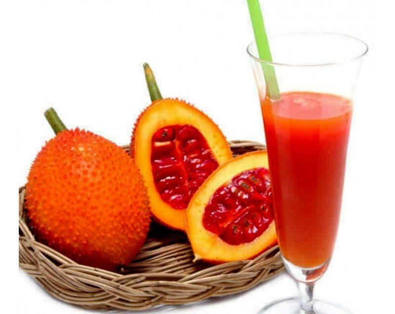Польза для здоровья сока Гак (Момордика кохинхинская) – источник антиоксидантов №1