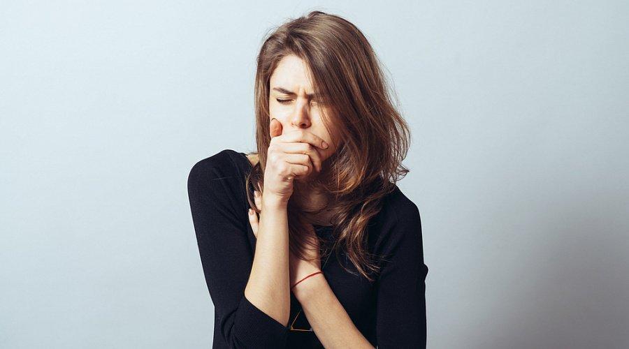 swallowing plegm make cough worsen