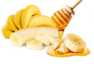banana honey hair mask