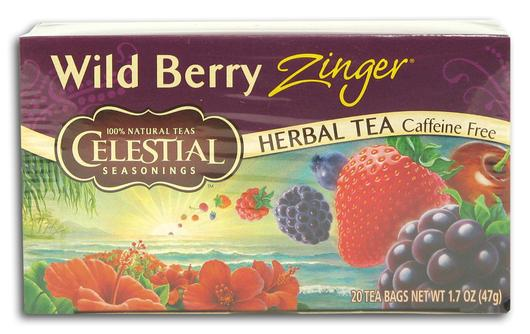 zinger berry tea