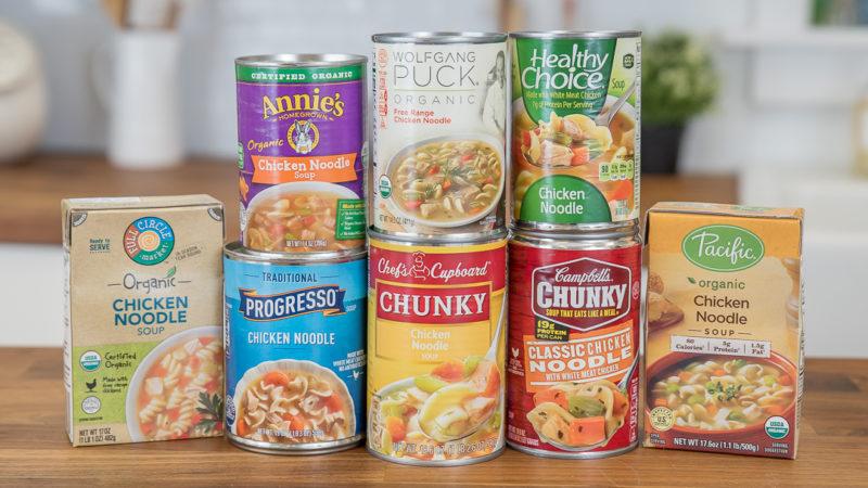 15 полезных свойств консервированного куриного супа с лапшой на вкус