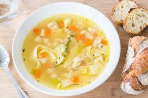chicken noodle soup benefit