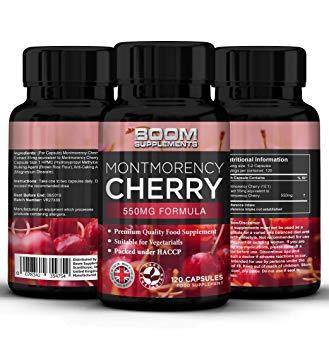 Преимущества приема капсул Montmorency Cherry