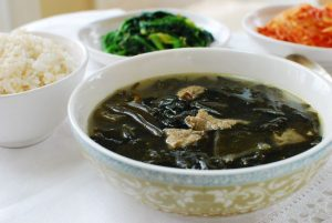 seaweed soup for postpartum