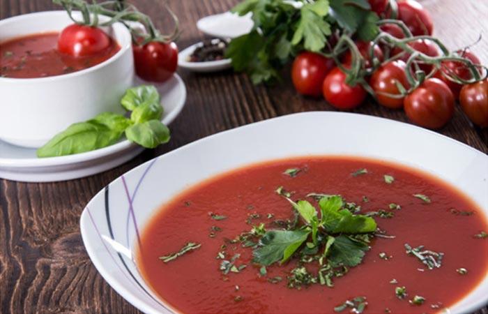 Польза томатного супа для роста волос – лучшие природные средства