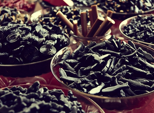 candy from licorice