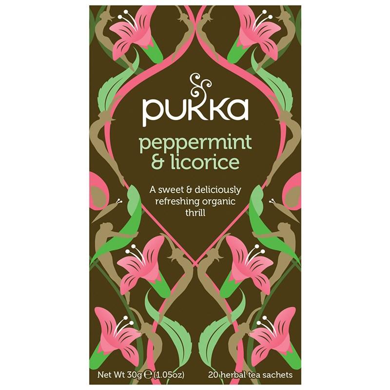 pepermint licorice tea