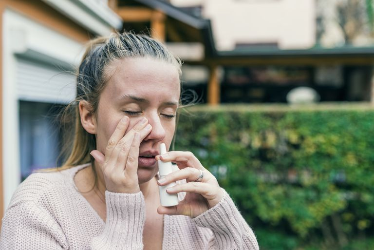 nasal spray side effect